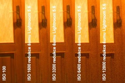Redukce šumu v Lightroomu 5.6, výřez 1:1 z originálního rozlišení (18 MPx)
