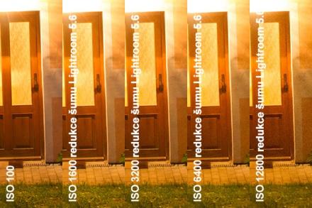 Redukce šumu v Lightroomu 5.6, výřez 1:1 z rozlišení pro tisk 15 x 10 cm