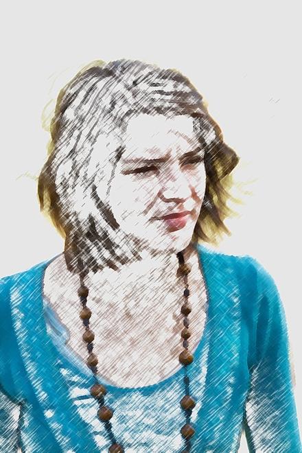 Převod na kresbu pastelkou pomocí základního filtru ve Photoshopu CC