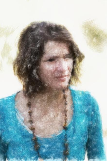 Převod na kresbu pastelkou v profesionální aplikaci PostworkShop 3