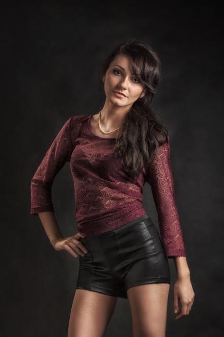 Barbora Jan Zeman profi profesionalní portrétní fotograf Praha glamour portrét