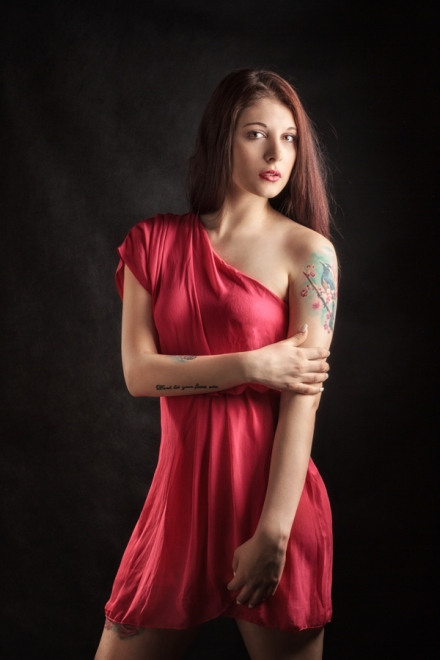Nikola Jan Zeman profi profesionalní portrétní fotograf Praha glamour portrét