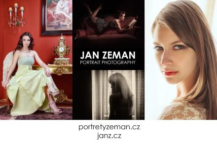 profesionální portrétní fotograf Praha dárkový poukaz